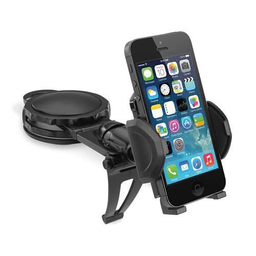 Macally Fully Adjustable Car Dash Mount for Smartphones, DMOUNT