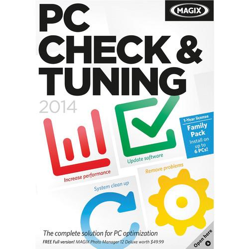 MAGIX Entertainment PC Check and Tuning 2014 RESMID015028