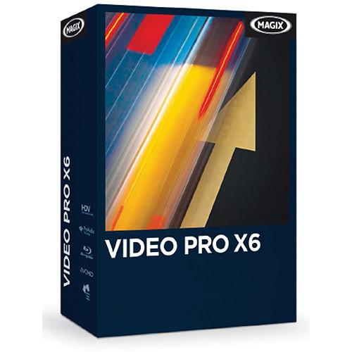 MAGIX Entertainment Video Pro X6 Video Editing RESMID015071