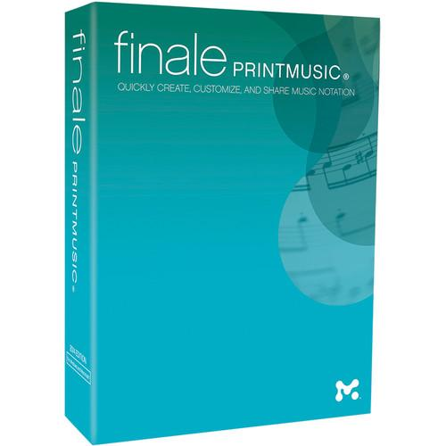 MakeMusic Finale PrintMusic - Notation and Composition PHR14
