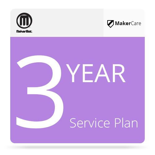 MakerBot 3-Year MakerCare Service Plan for MakerBot MP06587