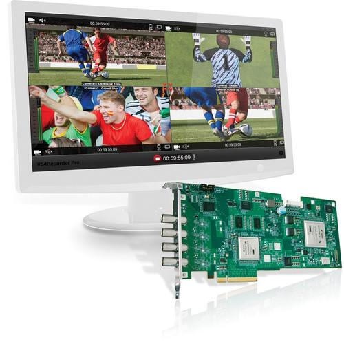 Matrox VS4 HD-SDI Capture Card with VS4Recorder Pro VS4PRO