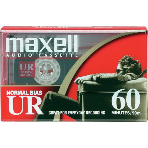 Maxell Normal Bias Ultrium Audio Cassette Tape 109010