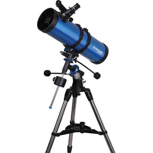 Meade Polaris 130mm f/5.0 Equatorial Reflector Telescope 216006