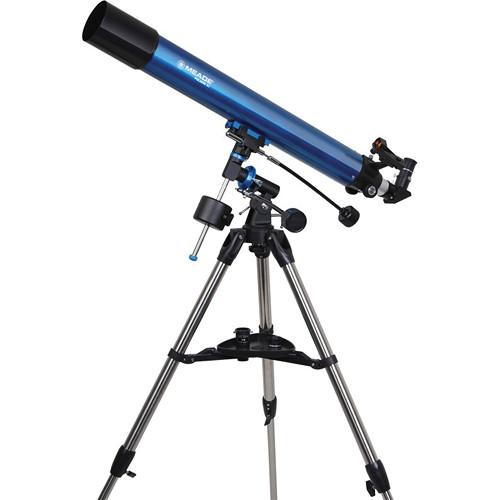 Meade Polaris 80mm f/11.3 Equatorial Refractor Telescope 216002