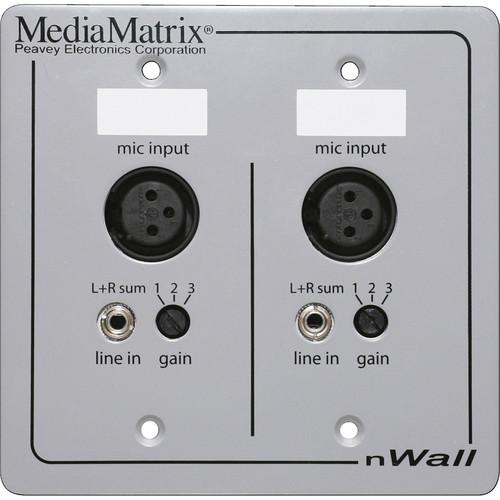 MediaMatrix MediaMatrix nWall CobraNet Connected 03601640