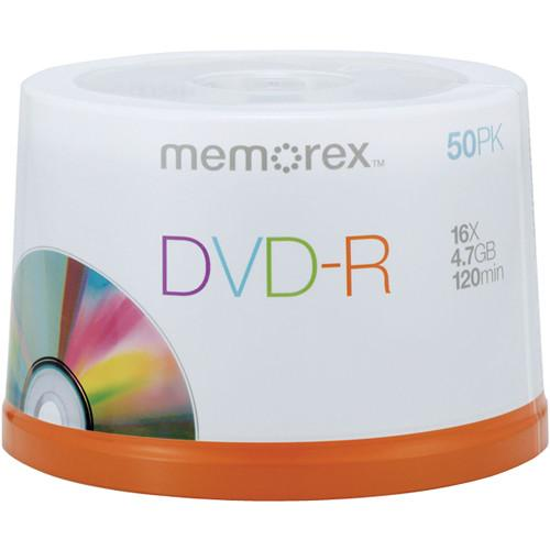 Memorex  DVD-R 4.7GB 16x (50-Pack) Spindle 05639