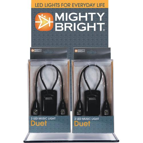 Mighty Bright Duet LED Music Light (10-Pack) 125716