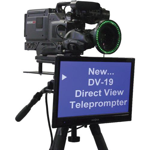 Mirror Image Direct View LCD Prompter (19
