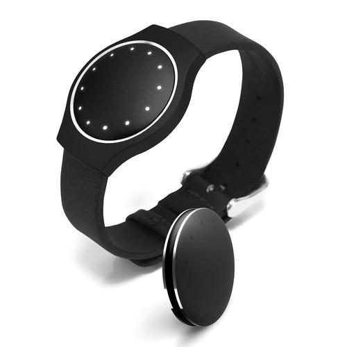 Misfit Wearables Leather Band for Shine (Black) SB0E0
