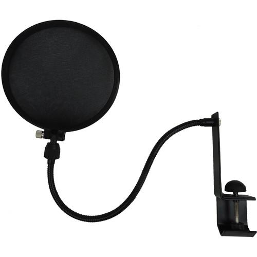 Nady Microphone Pop Filter with Boom and Stand Clamp SPF-1