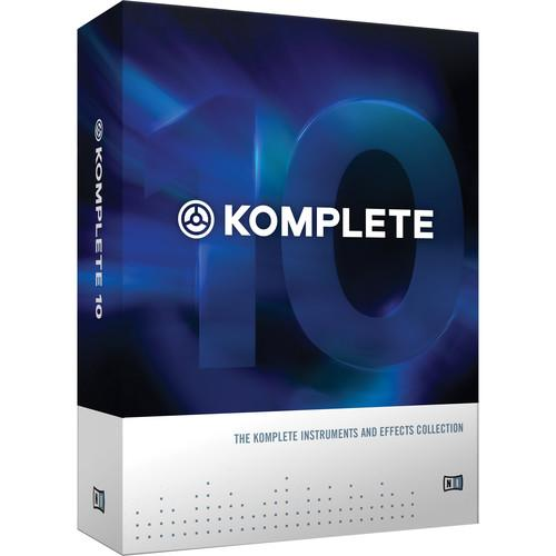 Native Instruments KOMPLETE 10 - Virtual Instruments and 22959