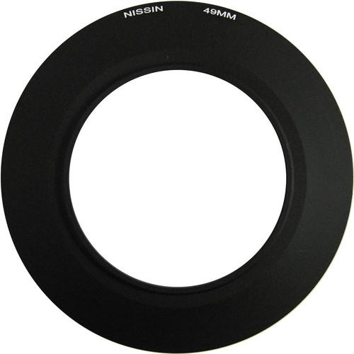 Nissin 49mm Adapter Ring for MF18 Macro Flash NDMF49MM