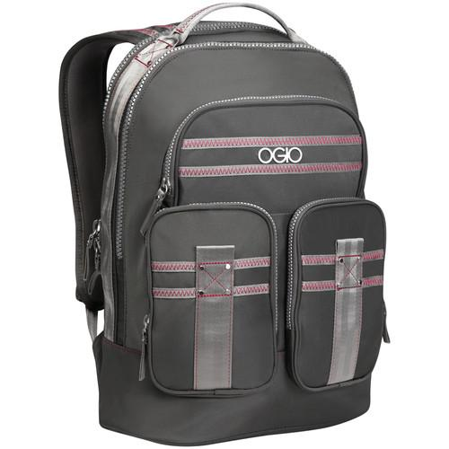 OGIO Triana Laptop Backpack (Gray & Pink) 114009.442