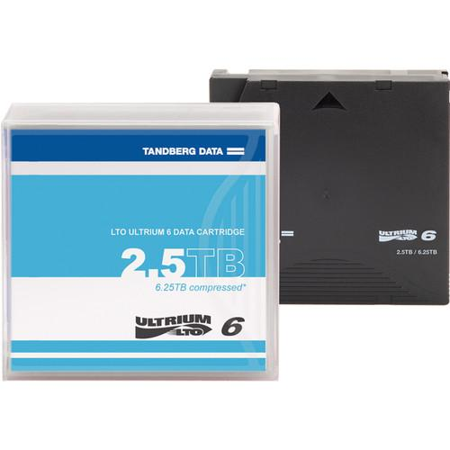 Overland LTO-6 2.5TB Data Cartridge (Unlabeled) 434021