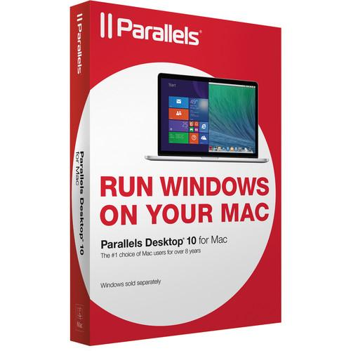 Parallels Desktop 10 for Mac (OEM CD-ROM) PDFM10L-OEM1CD-BH-US
