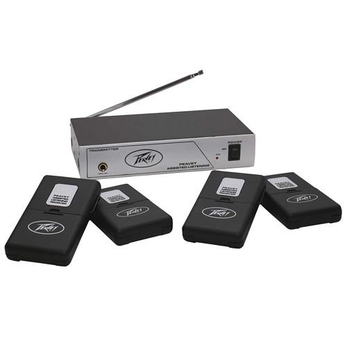 Peavey 4-User Single-Channel Wireless Assisted 03010680