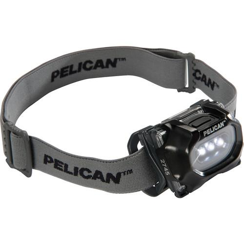 Pelican 2745 LED Headlight (Black) 027450-0100-110