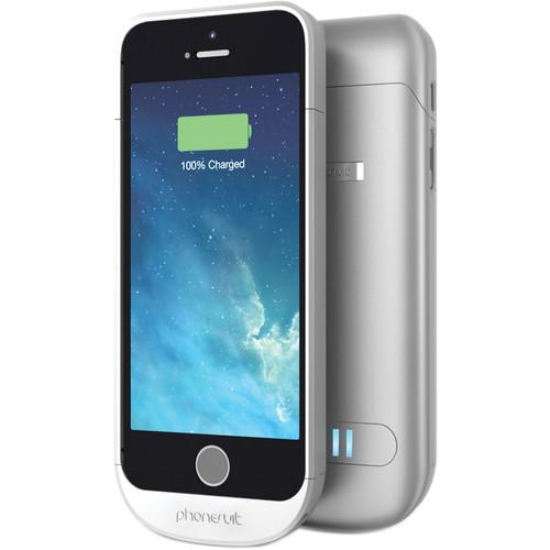 PhoneSuit Elite Battery Case for iPhone 5/5s PSELITEIP5SIL