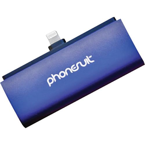 PhoneSuit Flex XT Pocket Charger for iOS Lightning PSMICRO2C2BLU