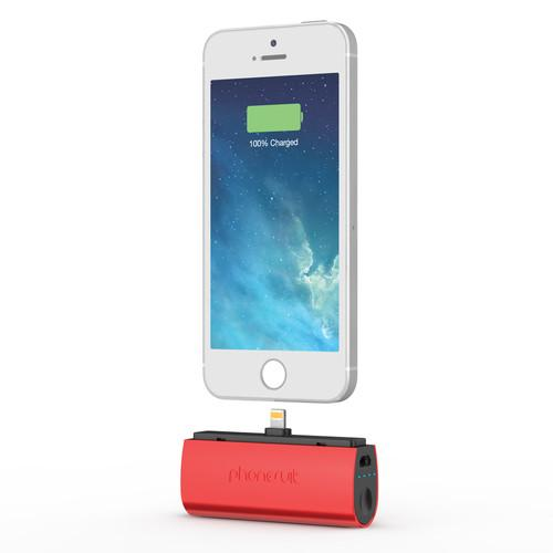 PhoneSuit Flex XT Pocket Charger for iOS Lightning PSMICRO2C2RED