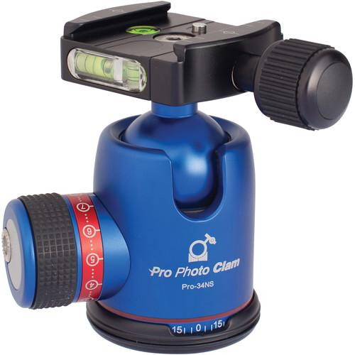 Photo Clam PRO 34NS Ball Head (Blue) PCBH-PRO34NSB