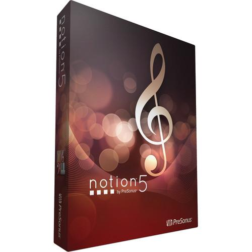PreSonus  Notion 5 - Notation Software NOTION 5