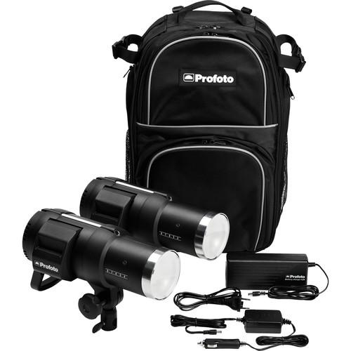 Profoto B1 500 Air Battery-Powered 2-Light Location Kit 901092