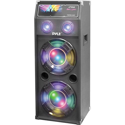 Pyle Pro PSUFM1040P Disco Jam 1,000W 2-Way Speaker PSUFM1040P