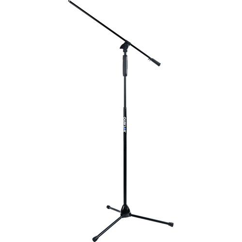 QuikLok A-989 Tripod Base Boom Mic Stand with One-Hand A989BK