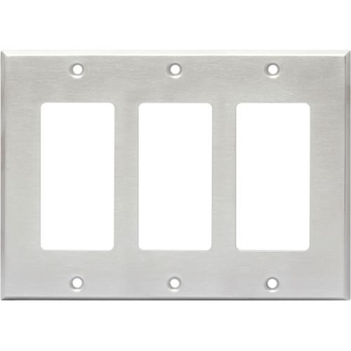 RDL CP-3S Triple Cover Plate (Stainless Steel) CP-3S