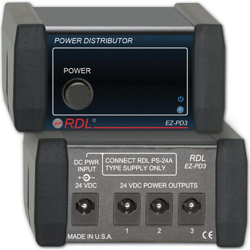 RDL  EZ-PD3 Power Supply Distributor EZ-PD3