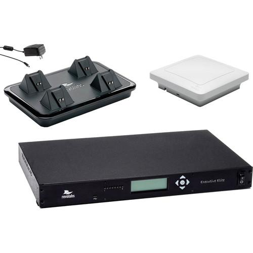 Revolabs Executive Elite 4-Channel Wireless System 01ELITEEXEC4