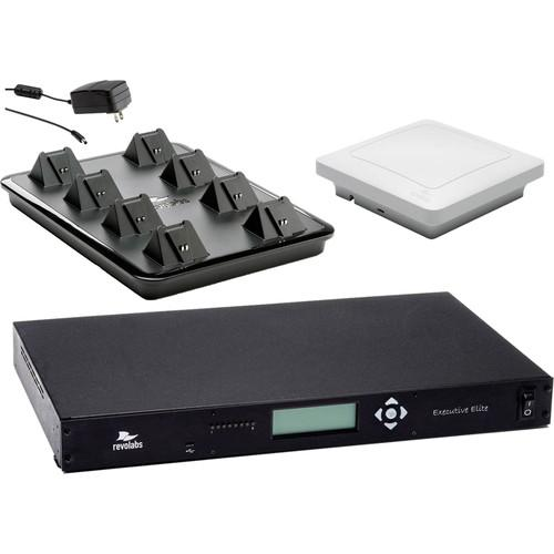 Revolabs Executive Elite 8-Channel Wireless System 01ELITEEXEC8