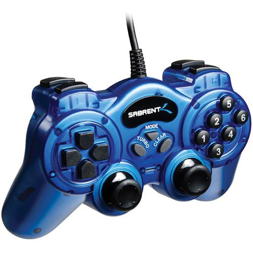 Sabrent 12-Button USB 2.0 Game Controller USB-GAMEPAD