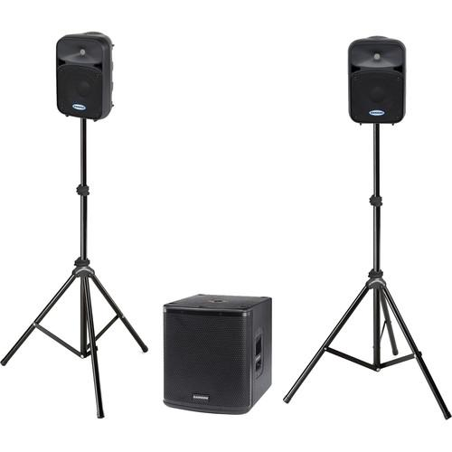 Samson Auro D1228 Performer Pack Active PA System D1228
