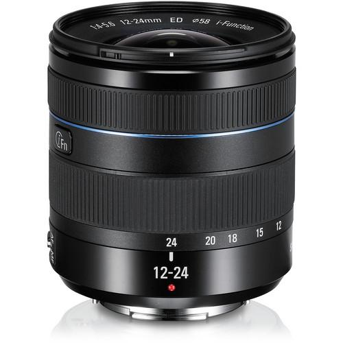 Samsung 12-24mm f/4-5.6 ED Wide-Angle Zoom Lens EX-W1224ANB/US