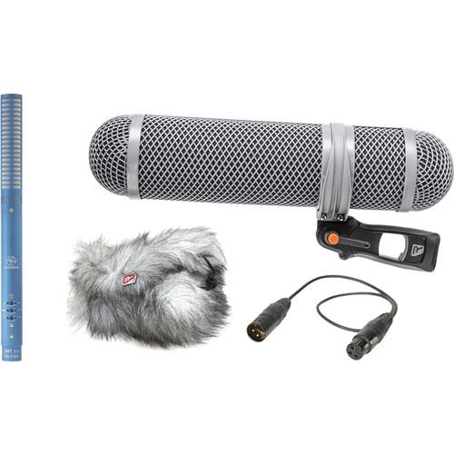 Schoeps CMIT5U Shotgun Microphone Kit (Blue) CMIT SSM SET