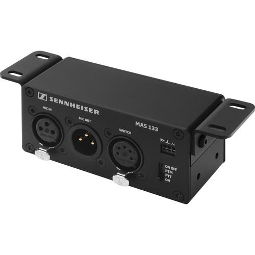 Sennheiser MAS 133 Inline Logic Box with XLR Mic In and MAS 133
