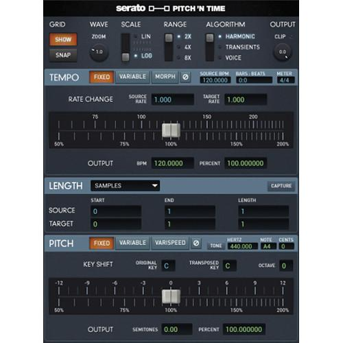 Serato Pitch 'n Time Pro 3.0 - Time Stretching and SSW-PT-PR3-DL