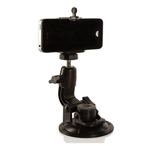 SHILL Suction Cup Mount with Smartphone and GoPro SLSCT-1SP