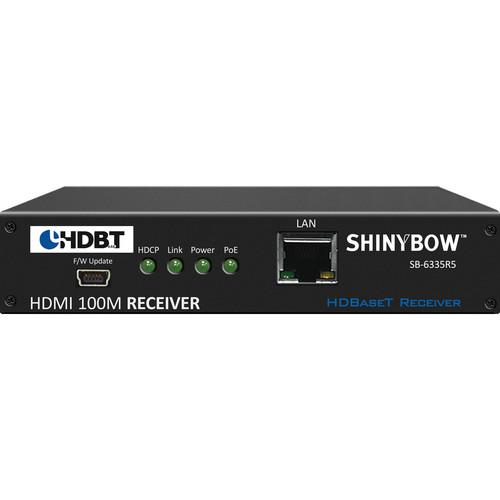 Shinybow SB-6335R5 HDMI HDBaseT Receiver with PoE SB-6335R5