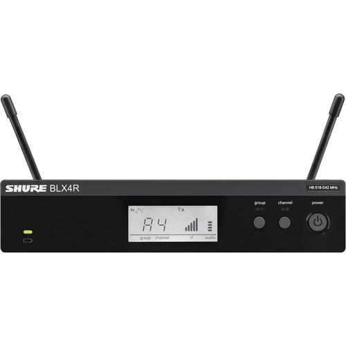 Shure BLX4R Single-Channel Wireless Rackmount Receiver BLX4R-J10