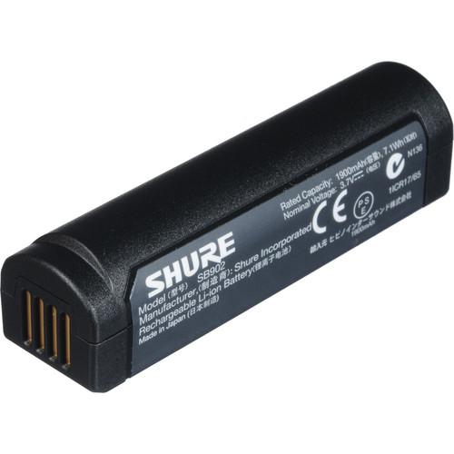 Shure SB902 Rechargeable Lithium-Ion Battery SB902