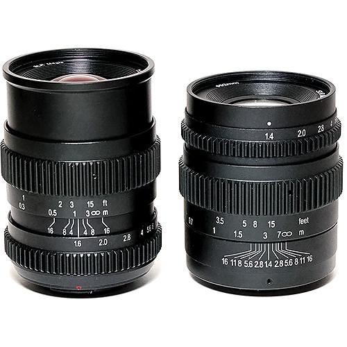 SLR Magic 17mm T1.6 and 35mm T1.4 SLR-1716MFT & SLR-3514MFT