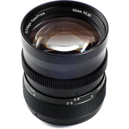 SLR Magic 50mm f/0.95 Hyperprime Lens for Sony APS-C SLR-5095E