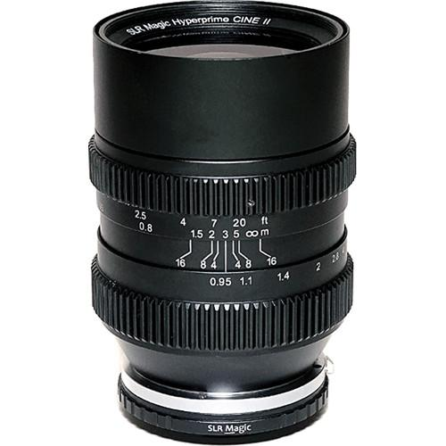 SLR Magic Cine 35mm T0.95 Mark II Lens SLR-3595M-CINE II-X