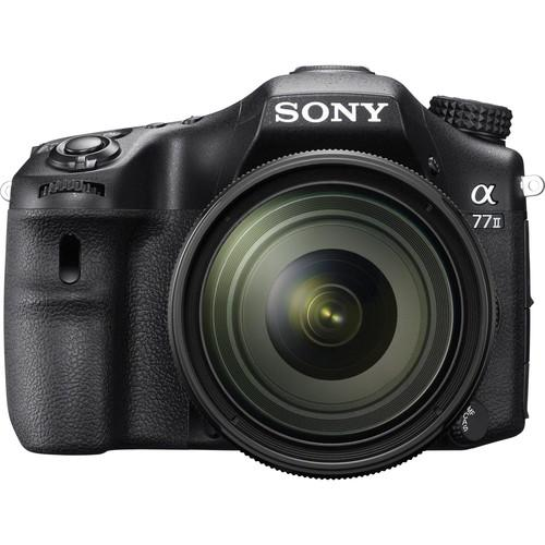 Sony Alpha a77II DSLR Camera with 16-50mm f/2.8 Lens ILCA77M2Q