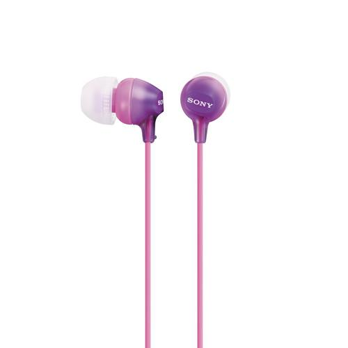 Sony MDR-EX15LP In-Ear Headphones (Violet) MDREX15LP/V
