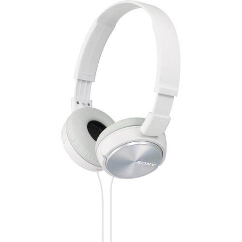 Sony MDR-ZX310 On-Ear Headphones (White) MDRZX310WH